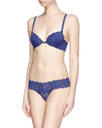 Cosabella 'Never Say Never' - Sexie' Push Up Lace Bra - Lyst