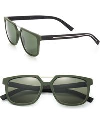 Dior Homme 55Mm Flat Top Sunglasses - Lyst