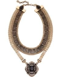 Samantha Wills - Moments By The Moonlight Collar Necklace - Gold - Lyst