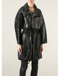 Toga Pulla - Faux Leather Lace Coat - Lyst