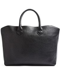 Burberry Tote Heritage Grain Medium Dewsbury Tote - Lyst