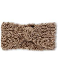 Steve Madden | Knit Glitter Headband | Lyst