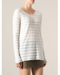 Forte Forte Striped Longsleeve T-shirt - Lyst