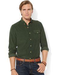 Polo Ralph Lauren Corduroy Bleecker Shirt - Lyst