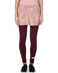 Adidas By Stella McCartney | Maroon Performance Leggings | Lyst