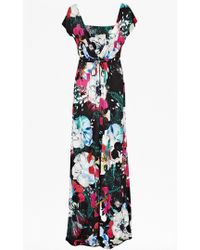French Connection Floral Reef Maxi Dress - Lyst