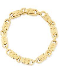 Roberto Coin Pois Moi 18k Yellow Gold Round Link Bracelet - Lyst