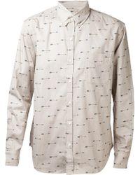 Altru - Arrow Pattern Shirt - Lyst