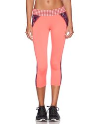 Maaji Orange Crop Legging - Lyst