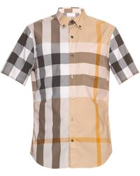 Burberry Brit - Fred Checked Short-sleeved Shirt - Lyst