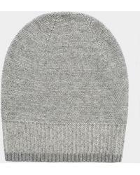 White + Warren - Cashmere Plaited Hat - Lyst