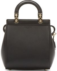 Givenchy Black Leather Chic Laser Mini Doctors Tote - Lyst