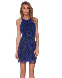 Parker Audrey Embellished Dress - Lyst