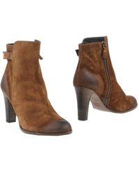 NDC Khaki Ankle Boots - Lyst