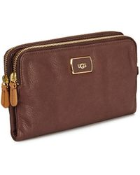 Ugg Double Zip Purse   - Lyst