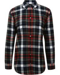 Equipment Engineered Temper Plaid Yarn Dye Flannel Signature - Lyst