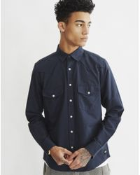 Only & Sons | Mens Oxford Shirt Blue | Lyst