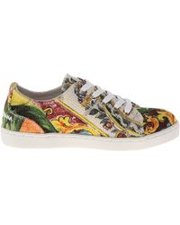 Dolce & Gabbana Graphic Print Sneaker Toddlerlittle Kid - Lyst