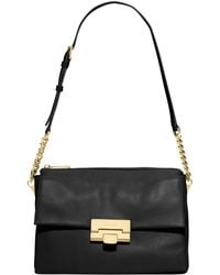 Michael Kors Michael Karlie Large Shoulder Bag - Lyst