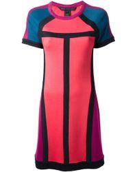 Marc By Marc Jacobs Colour Block Dress - Lyst