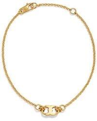 Tory Burch | Gemini Link Thin Bracelet | Lyst