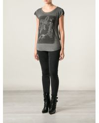 Diesel T-daph-f Printed T-shirt - Lyst