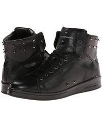 Alexander McQueen Elgar Studded High Top Sneaker - Lyst