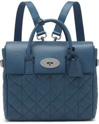Mulberry Cara Delevingne Bag gray - Lyst