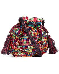 Star Mela Ina Embroidered Xbody Duffle Bag - Lyst