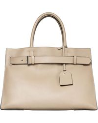 Reed Krakoff Rk40L Large Belted Leather Tote Bag - Lyst