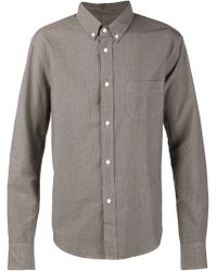 Band Of Outsiders Checkered Print Shirt - Lyst