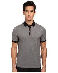 Michael Kors Contrast Pique Polo Shirt - Lyst