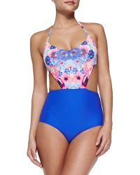 Zinke Andi Floral-top One-piece Swimsuit - Lyst