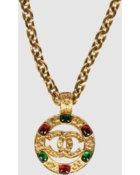 Chanel Necklace - Lyst