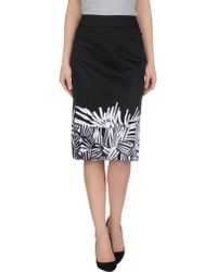 Max Mara Studio Knee Length Skirt - Lyst