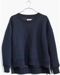 Madewell Cabinstitch Sweatshirt - Lyst