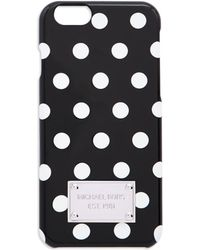 MICHAEL Michael Kors Snap-On Iphone 6 Case black - Lyst