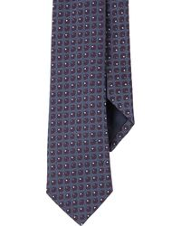 Barneys New York Dots-Jacquard Neck Tie - Lyst