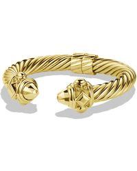 David Yurman Renaissance Bracelet in Gold - Lyst