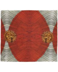 Athena Procopiou - Red Venetian Modal And Cashmere-Blend Scarf - Lyst
