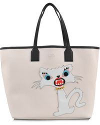 Karl Lagerfeld Choupette Monster Tote - Lyst