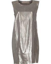 DROMe Short Dress - Lyst