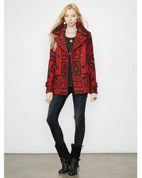 Denim & Supply Ralph Lauren Jacquard-knit Hunting Coat - Lyst