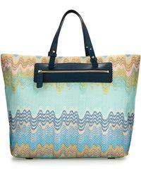 Missoni - Multicolor Wave-print Beach Tote Bag - Lyst