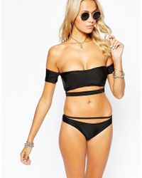 Tiger Mist - Summer Slicker Bikini Bottom - Lyst
