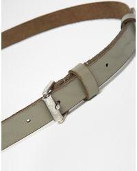 Becksöndergaard - Clean Leather Belt - Lyst