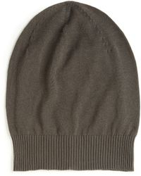 Rick Owens Slouchy Knit Hat - Lyst