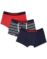 Diesel Shawn Boxer Briefs, 3-Pack - Lyst