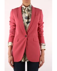 Gucci Pink Giacca Oversize - Lyst