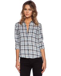 Current/Elliott The Slim Boy Shirt - Lyst